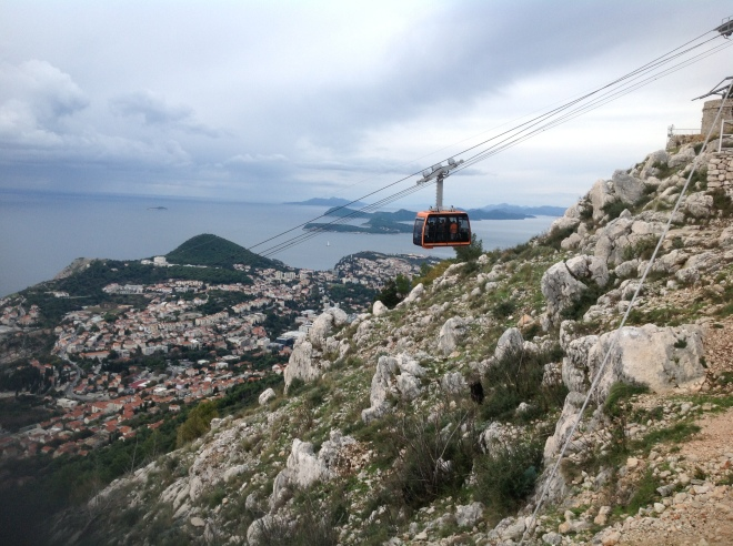 Cable Car Ride in Croatia