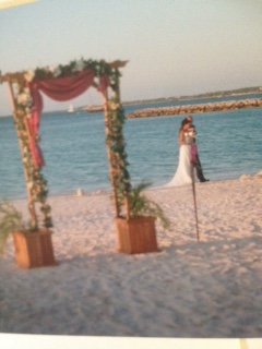 Destination Wedding on Beach