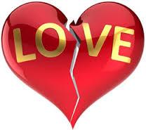 love - a broken heart